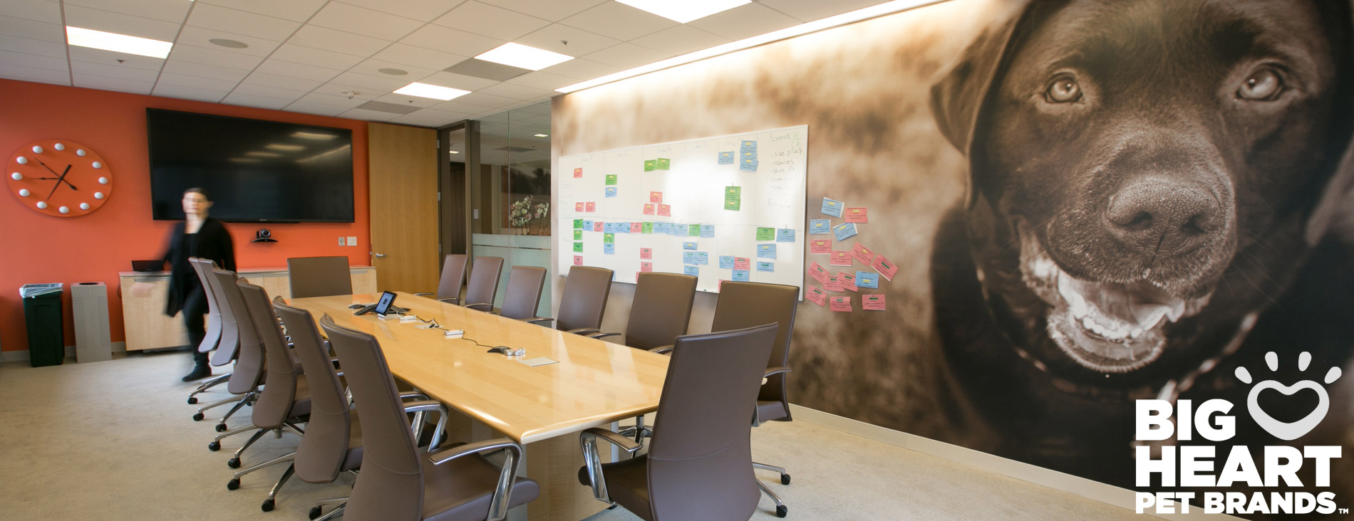 Commissioned Photography | Big Heart Conference Room by Mark Rogers