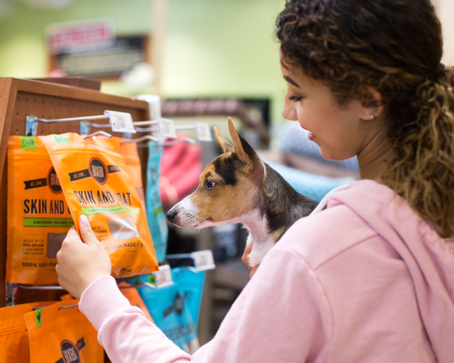 Lifestyle Photography | Dog Treat Shopping by Mark Rogers
